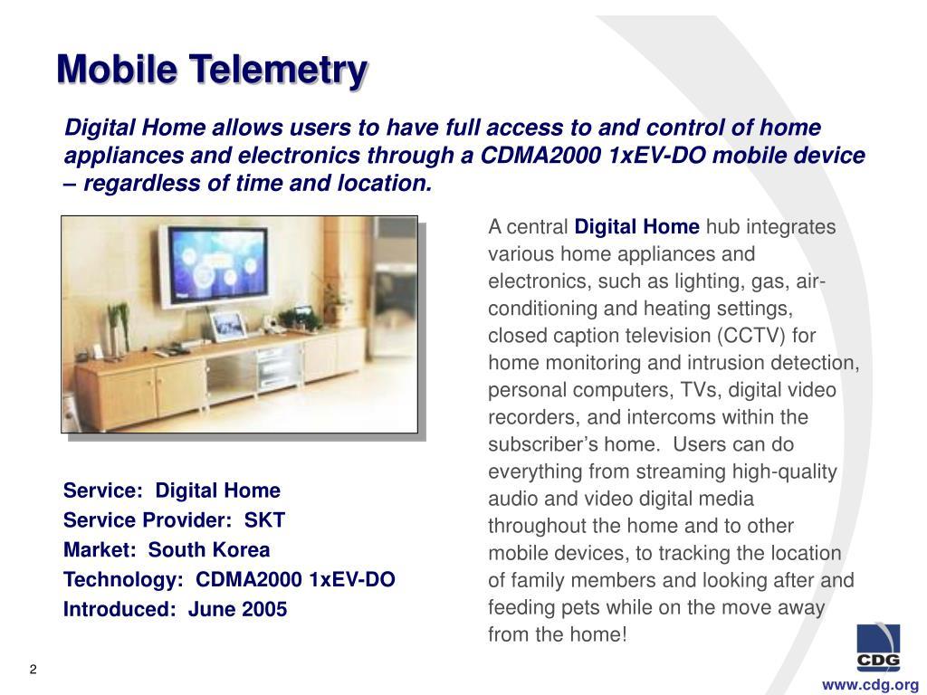 Mobile Telemetry