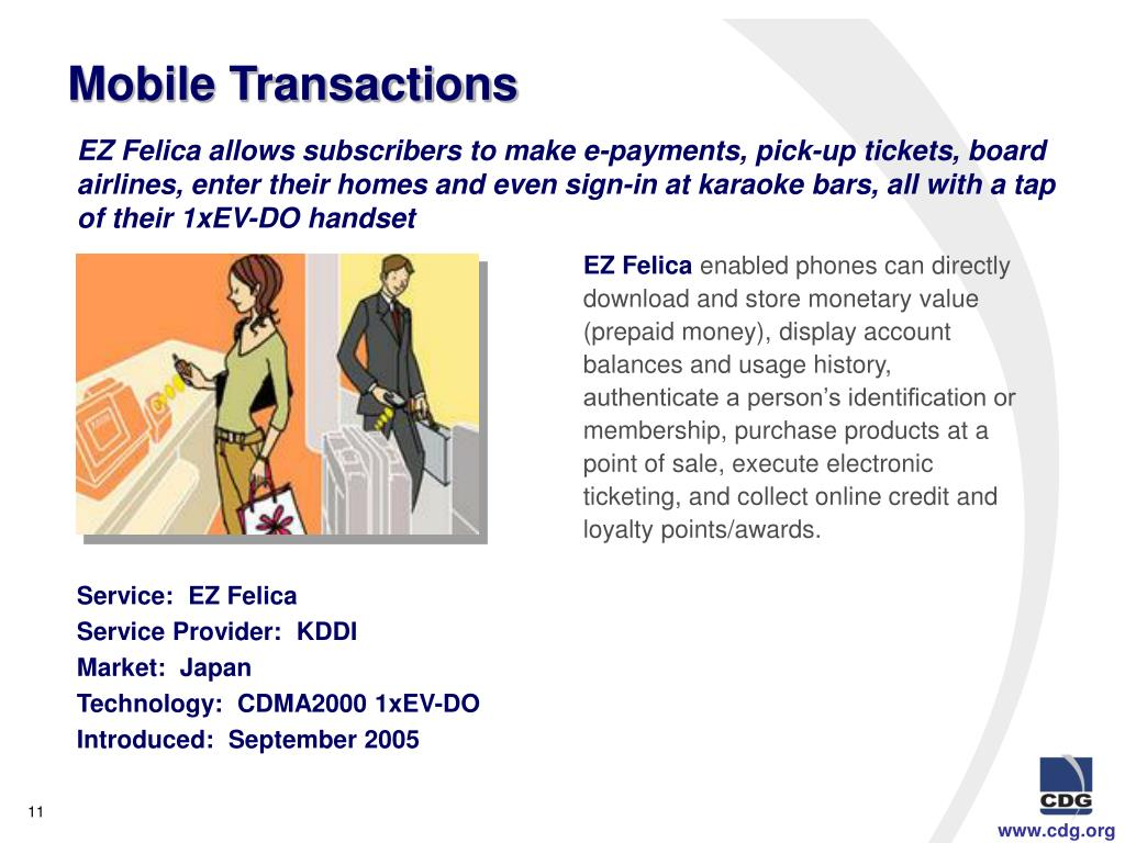 Mobile Transactions