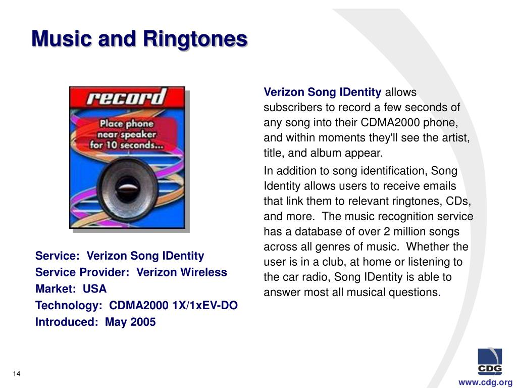 Music and Ringtones