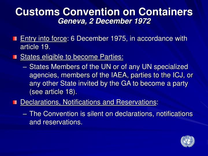 Customs Convention on Containers