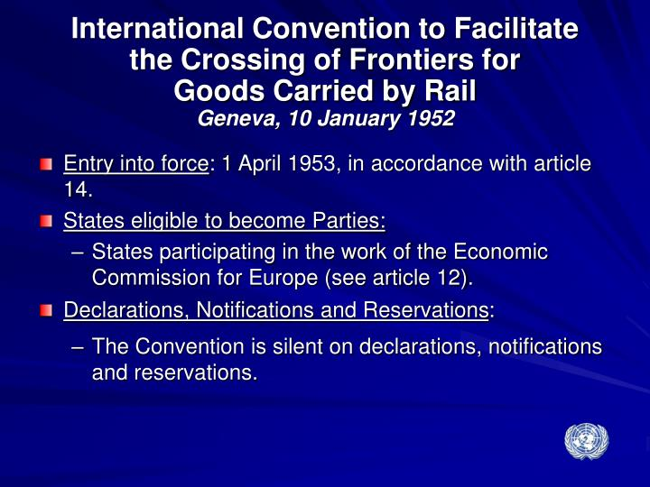 International Convention to Facilitate