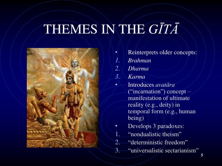 THEMES IN THE