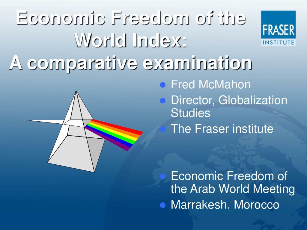 Economic Freedom of the World Index: