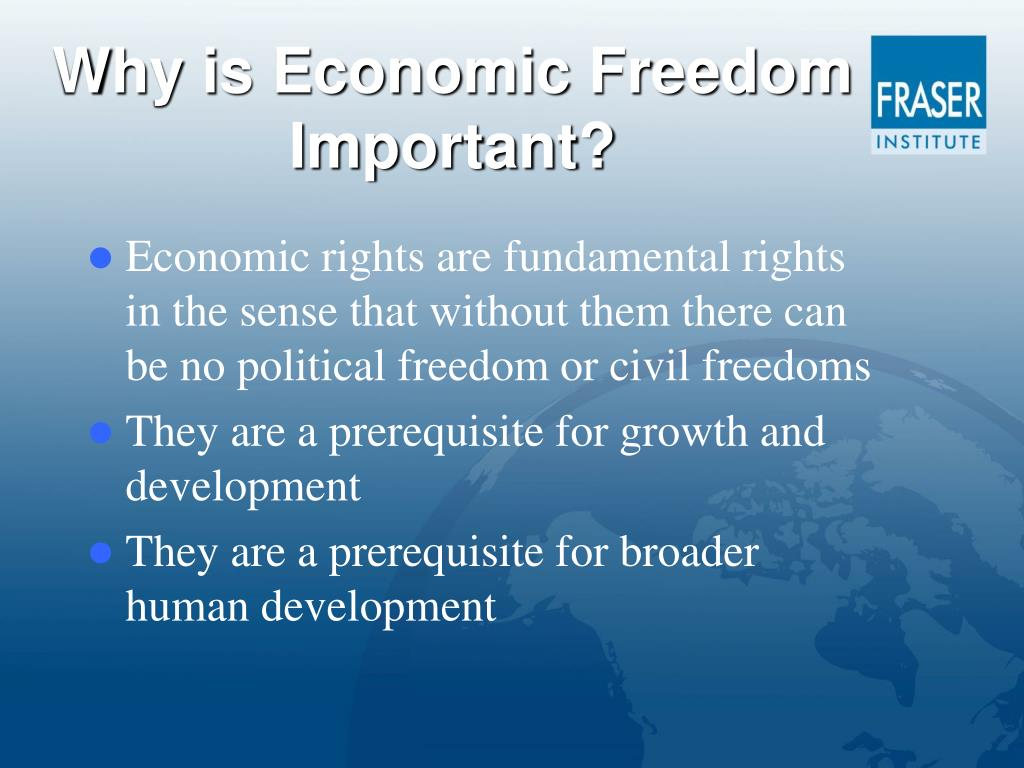 Why is Economic Freedom Important?