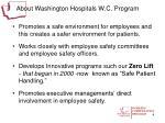 about washington hospitals w c program1