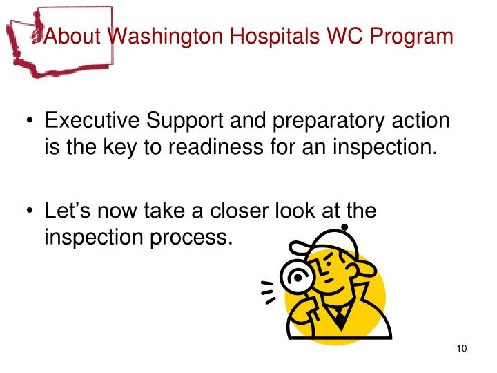 About Washington Hospitals WC Program