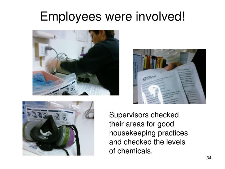 Employees were involved!