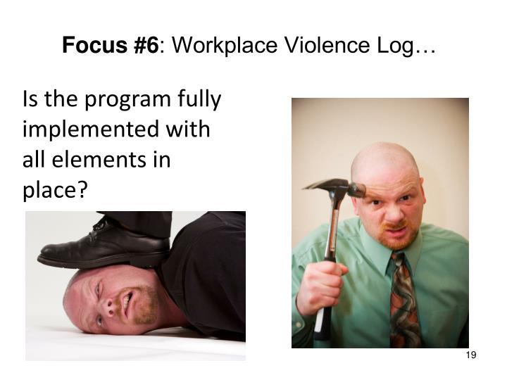 Focus #6