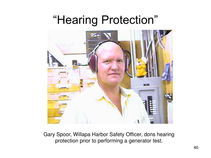 """Hearing Protection"""
