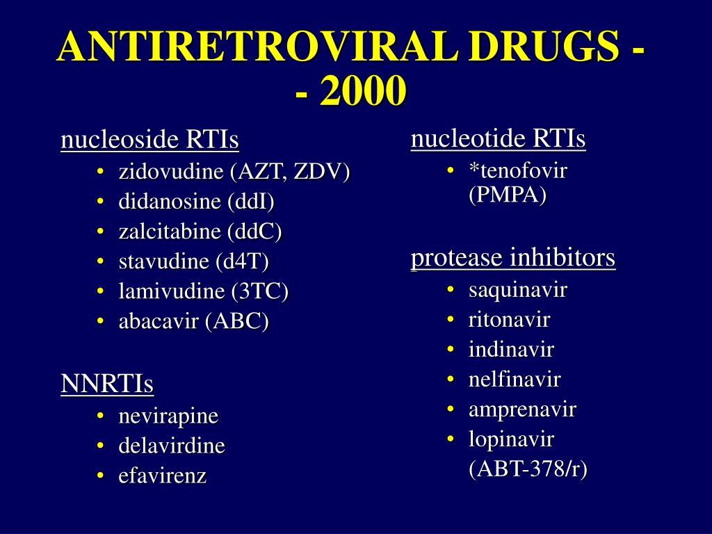 nucleoside RTIs