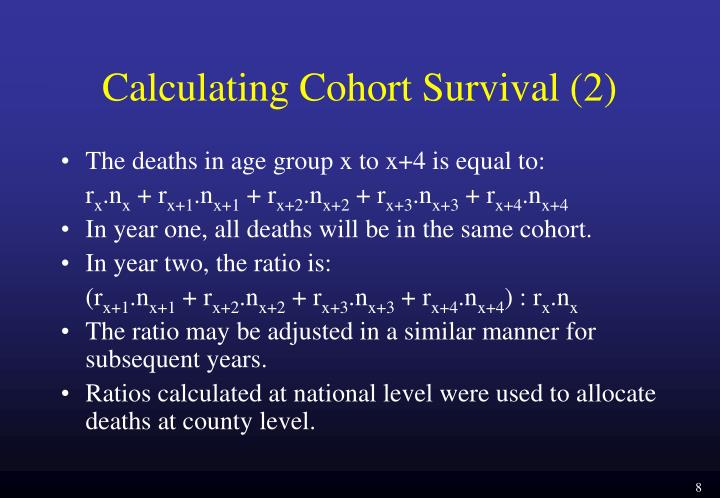 Calculating Cohort Survival (2)
