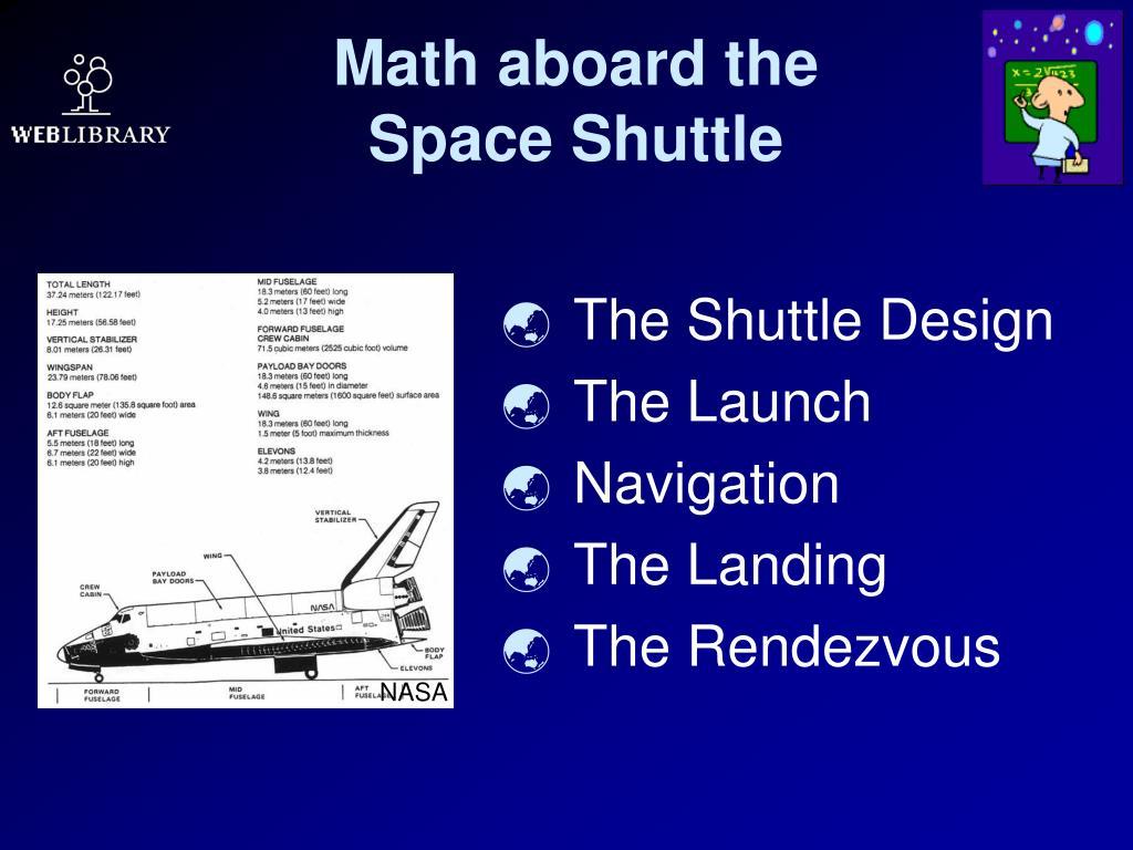 Math aboard the