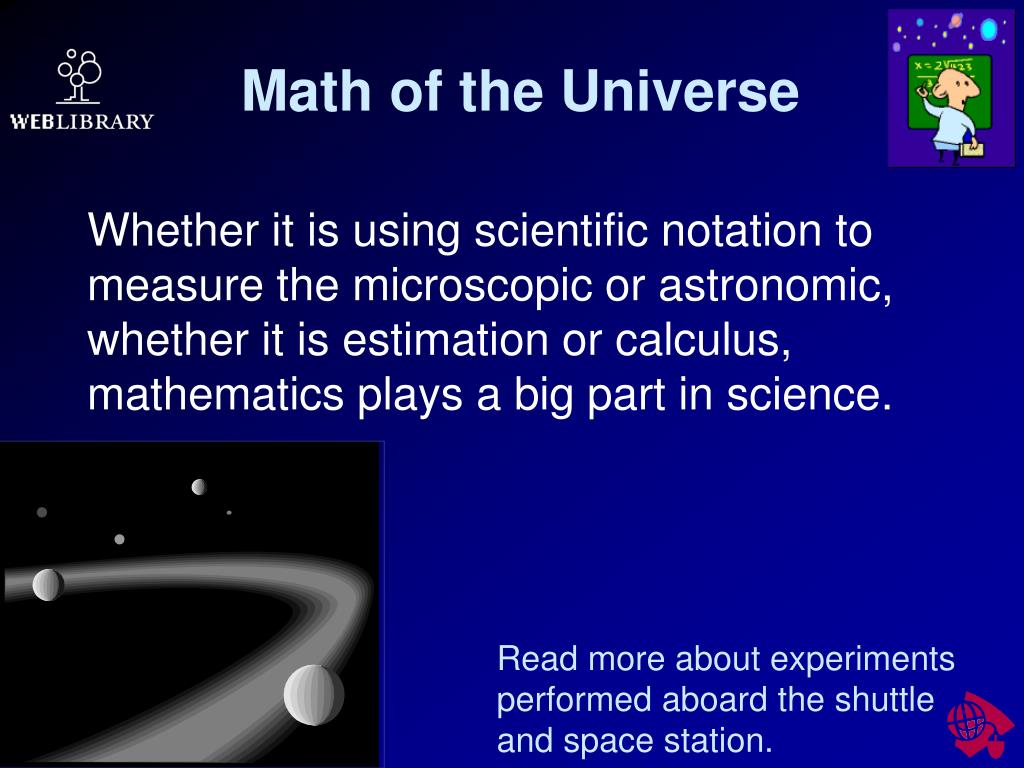 Math of the Universe