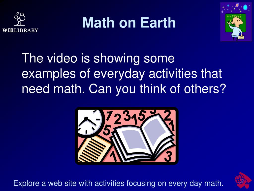Math on Earth