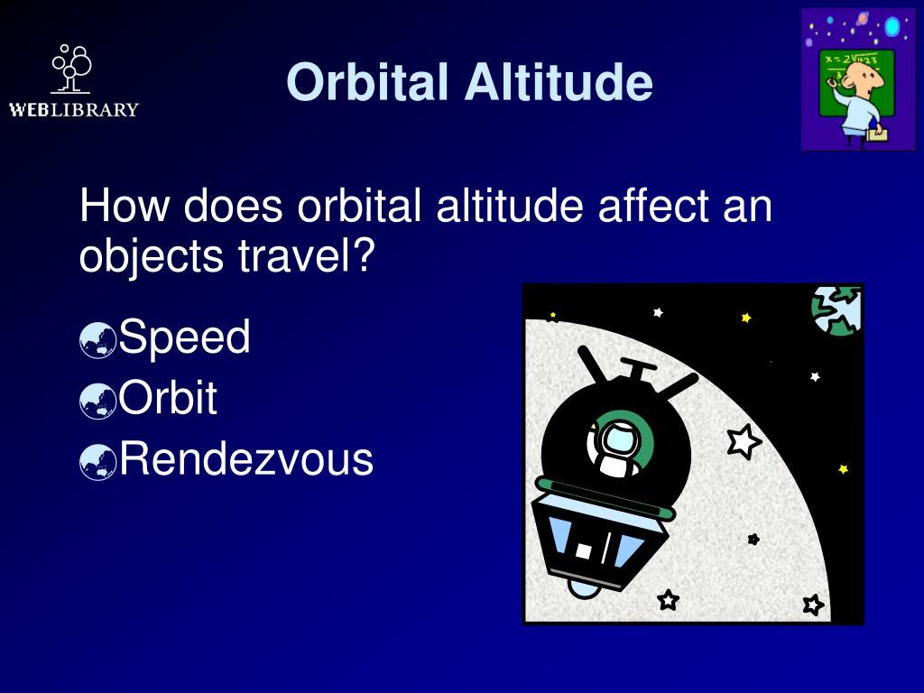 Orbital Altitude