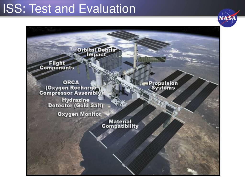 ISS: Test and Evaluation
