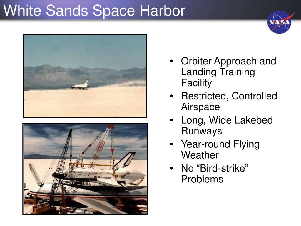 White Sands Space Harbor