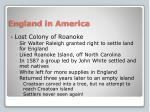 england in america1