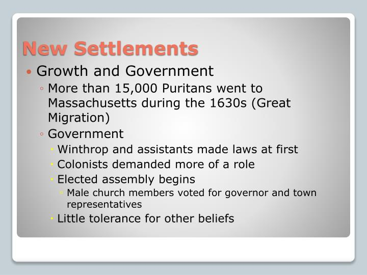 Growth and Government