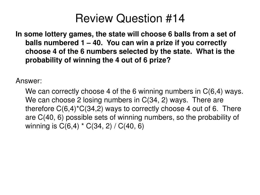 Review Question #14