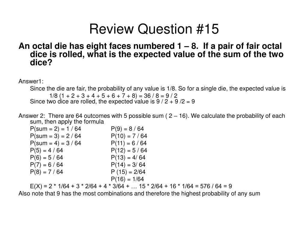 Review Question #15
