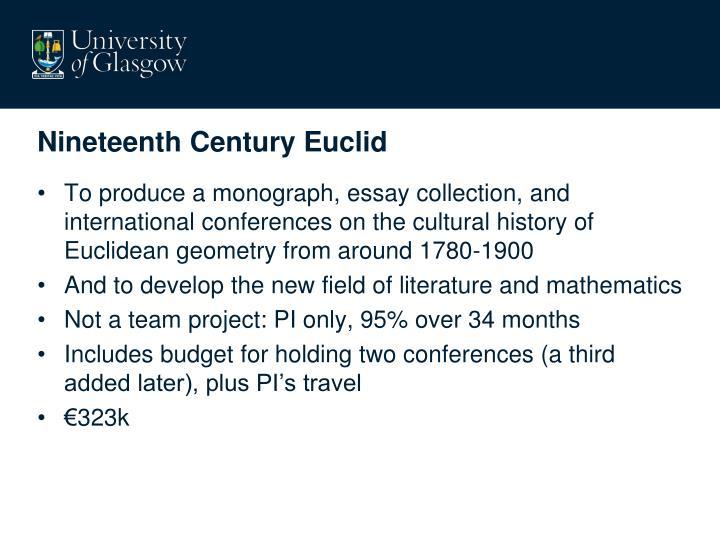 Nineteenth Century Euclid