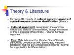theory literature