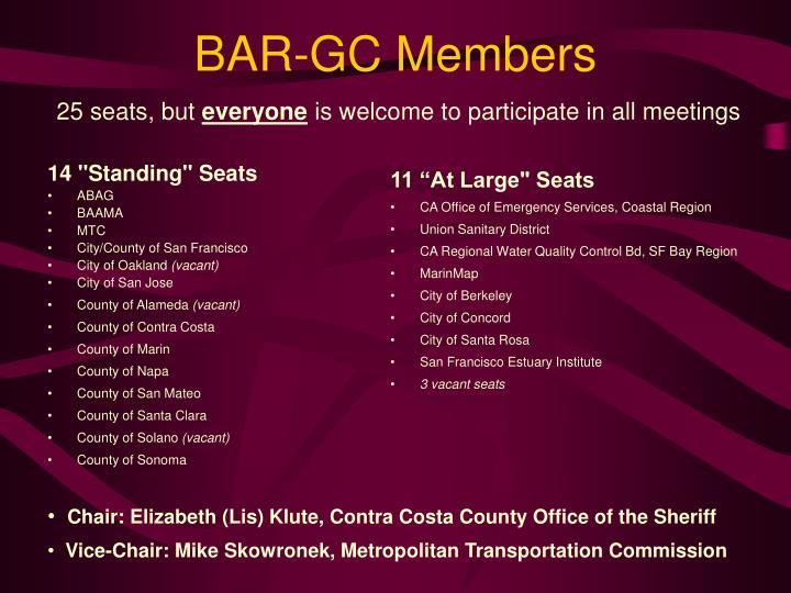BAR-GC Members
