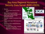 bay area regional homeland security data server bar hsds