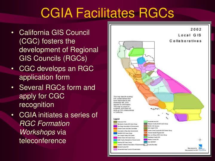 CGIA Facilitates RGCs