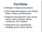 peat mining