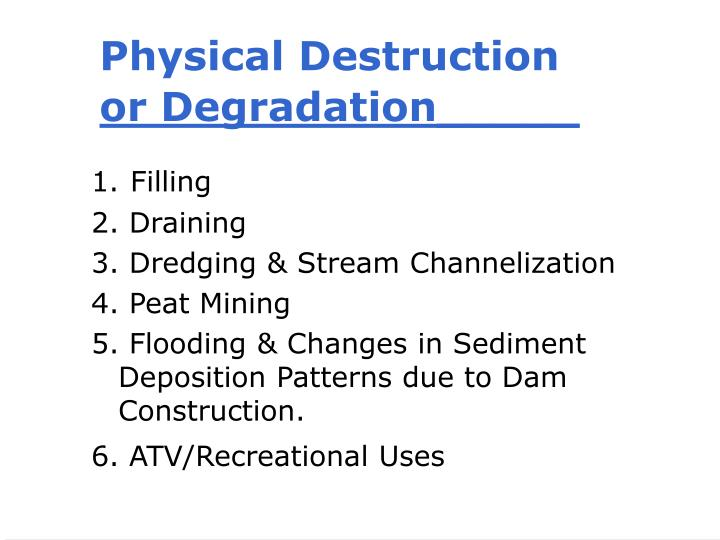 Physical Destruction
