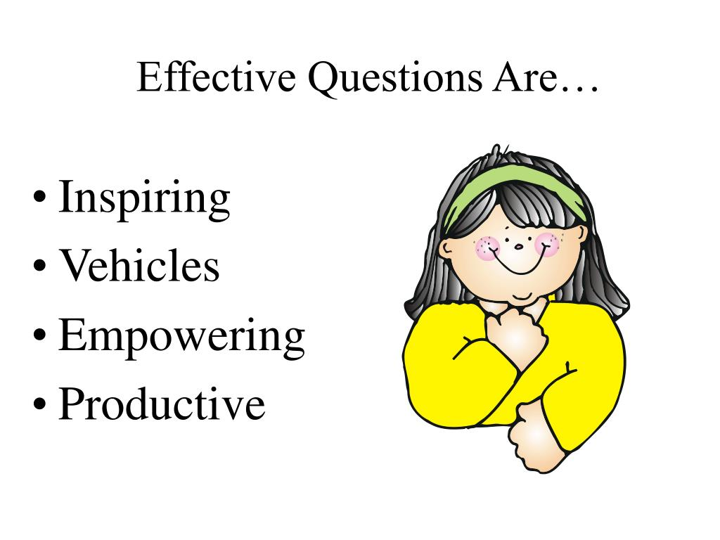 Effective Questions Are…