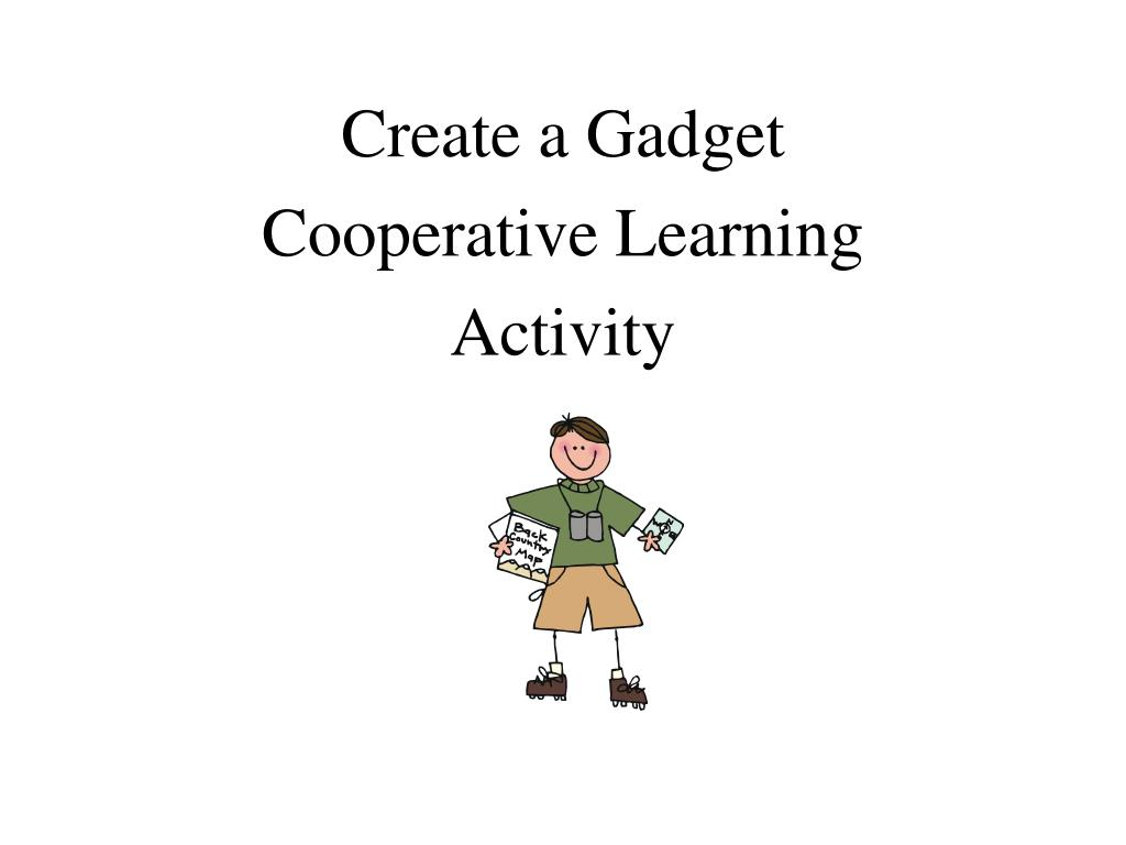 Create a Gadget