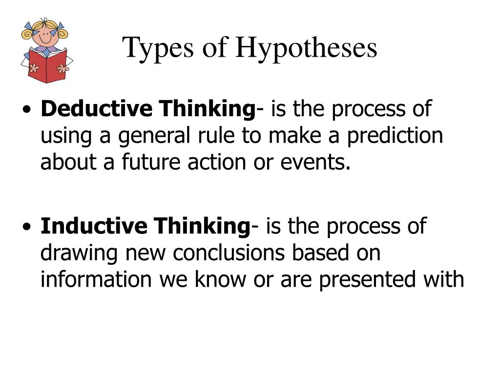 Types of Hypotheses