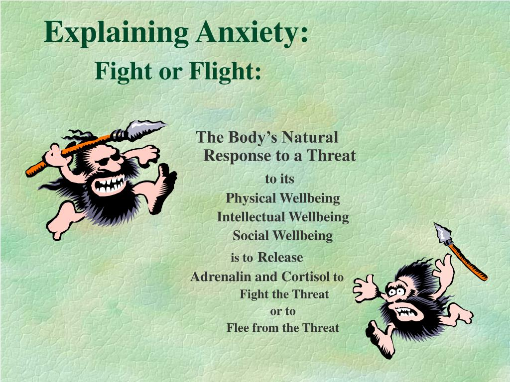Explaining Anxiety: