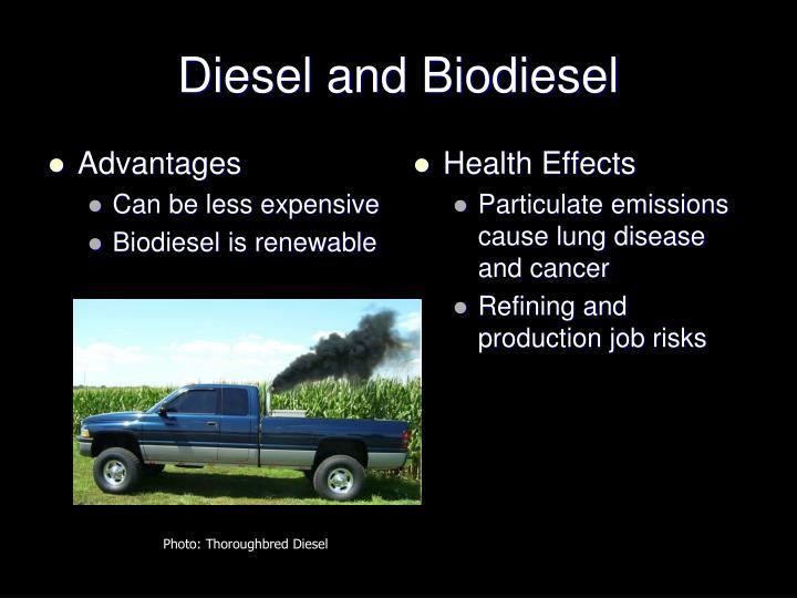 Diesel and Biodiesel