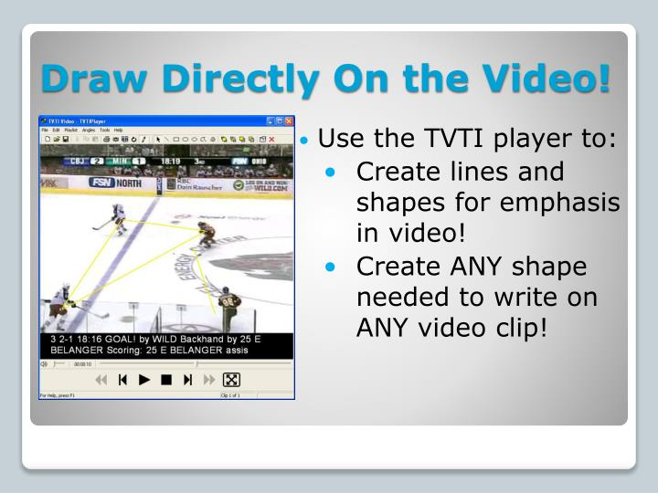 Draw Directly On the Video!