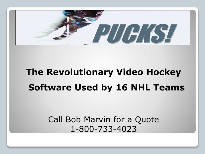 The Revolutionary Video Hockey Software Used by 16 NHL Teams