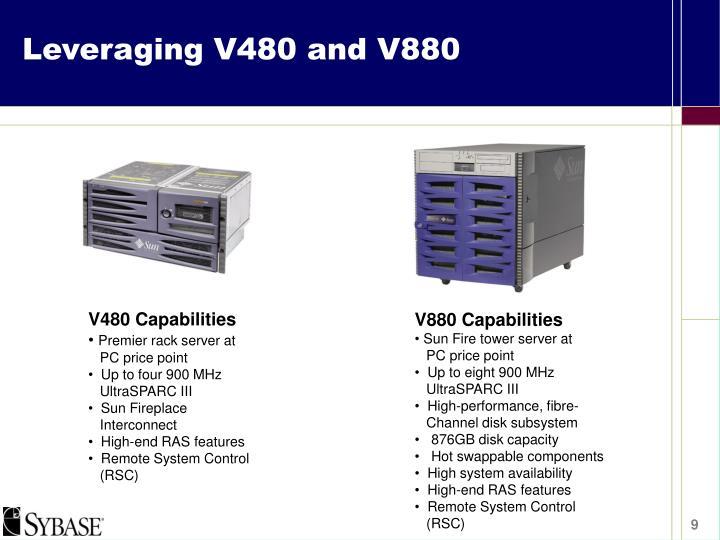 Leveraging V480 and V880