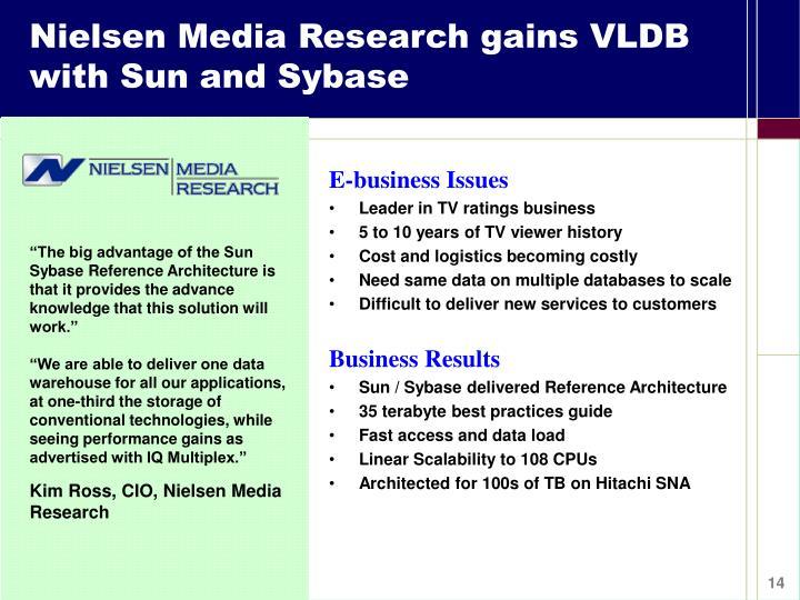 Nielsen Media Research gains VLDB