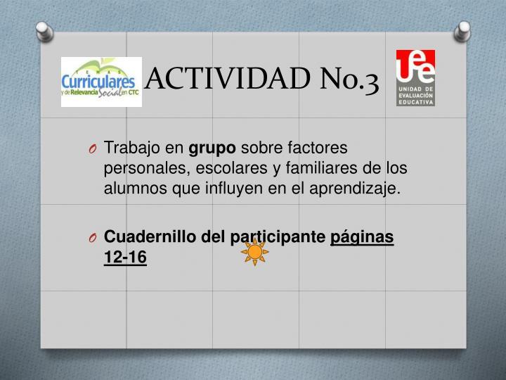 ACTIVIDAD No.3