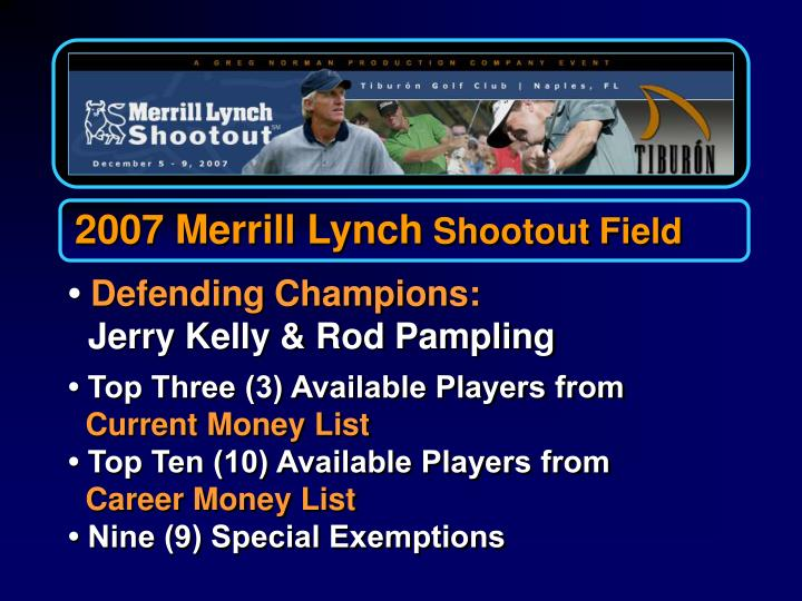 2007 Merrill Lynch