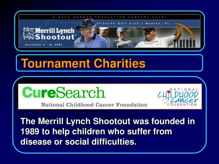 Tournament Charities