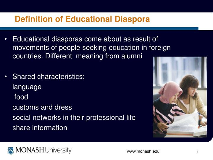 Definition of Educational Diaspora