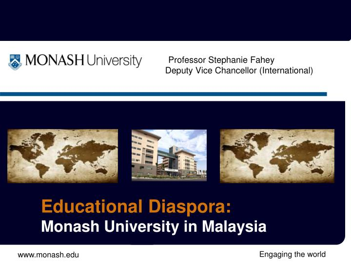Monash university international strategy