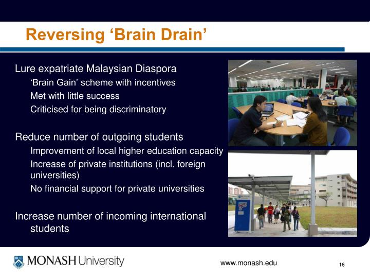 Reversing 'Brain Drain'
