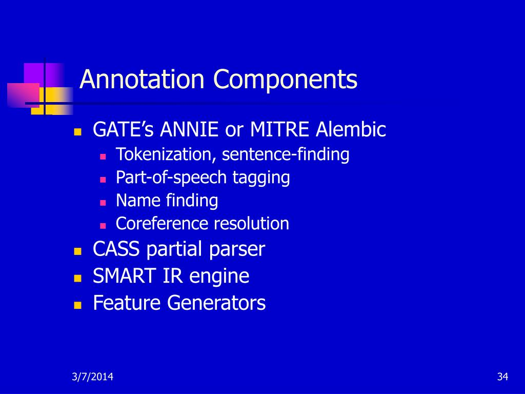 Annotation Components
