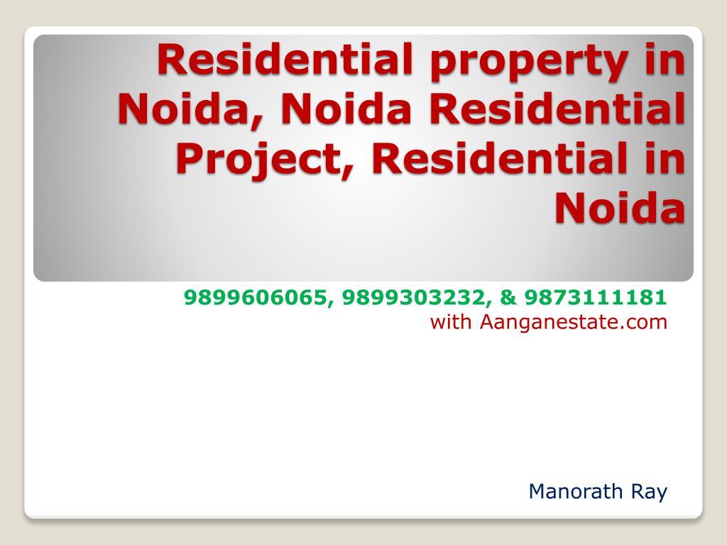 Residential property in Noida,