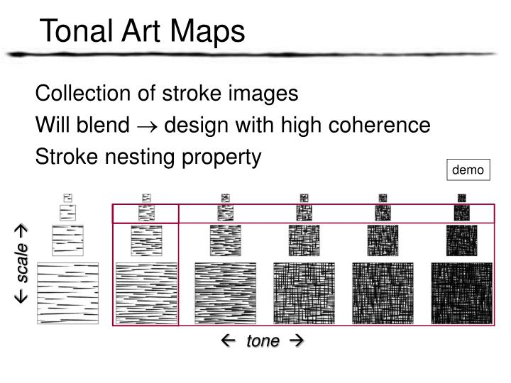 Tonal Art Maps